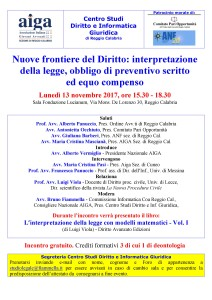 Convegno 13 novembre 2017 Reggio Calabria